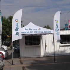 BANDERAS VELA Y TOLDO MUNICIPALIDAD DE LA REINA
