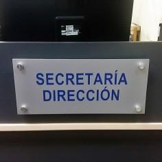 SEÑALÉTICA RECEPCIÓN